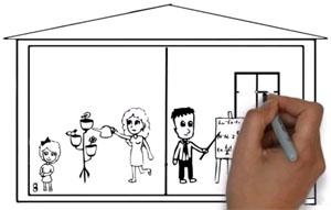 Как создать рисованное Дудл видео